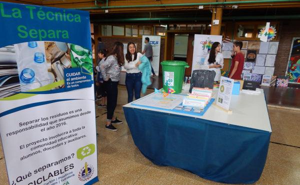 El medio ambiente es parte de la exposicion de Expo Tecnica