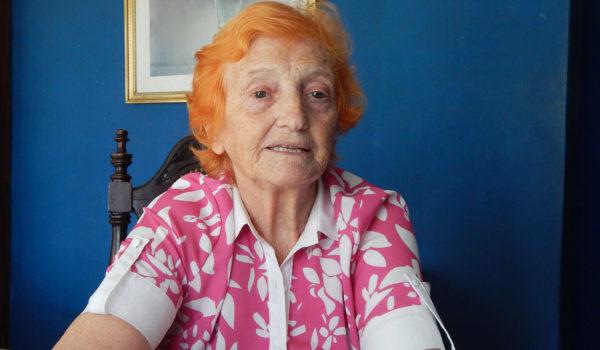 Elida Arocas, fue enfermera, docente y brindo una semblanza sobre la profesión