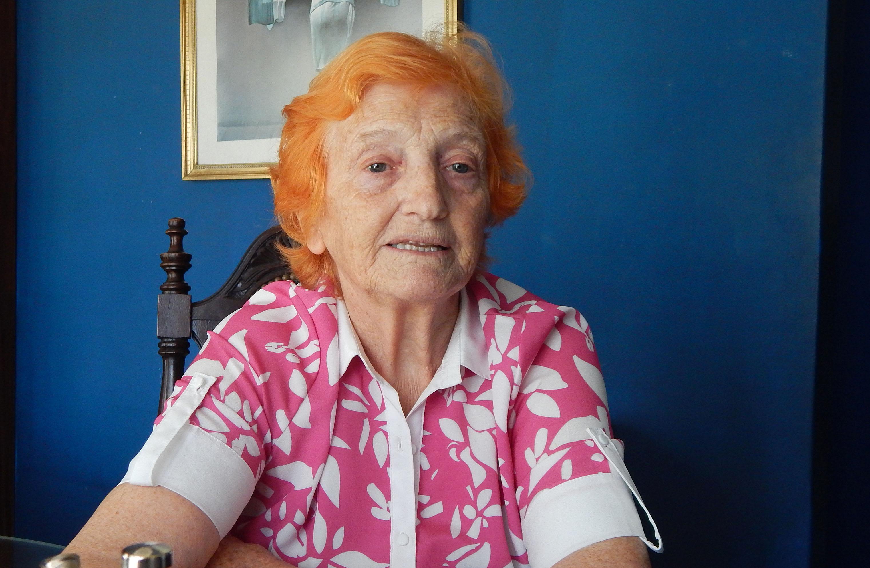 En el día de la Enfermera, Elida Arocas realizo una semblanza sobre la profesión