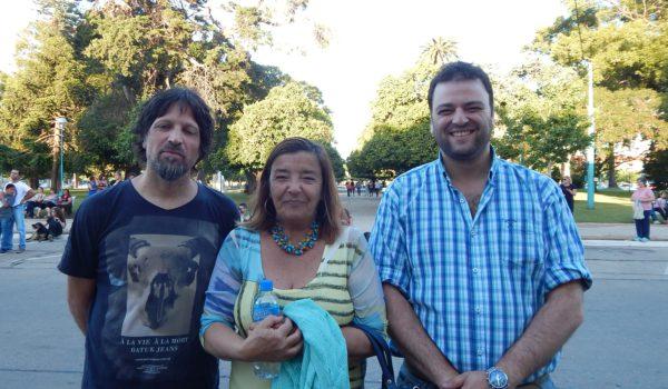 Galvani, Cereigido y Barroso celebraron el trabajo de los Talleres