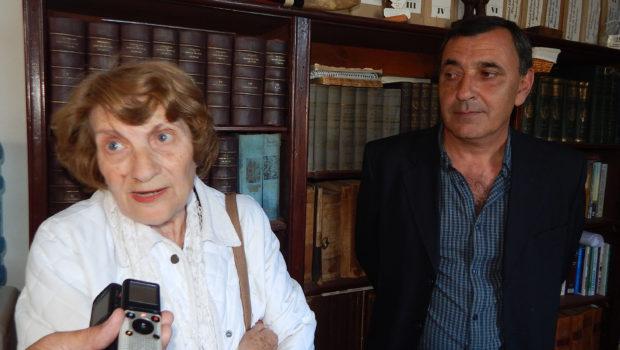 Gloria de Irigoitia y Daniel Asaad en dialogo con El Regional Digital