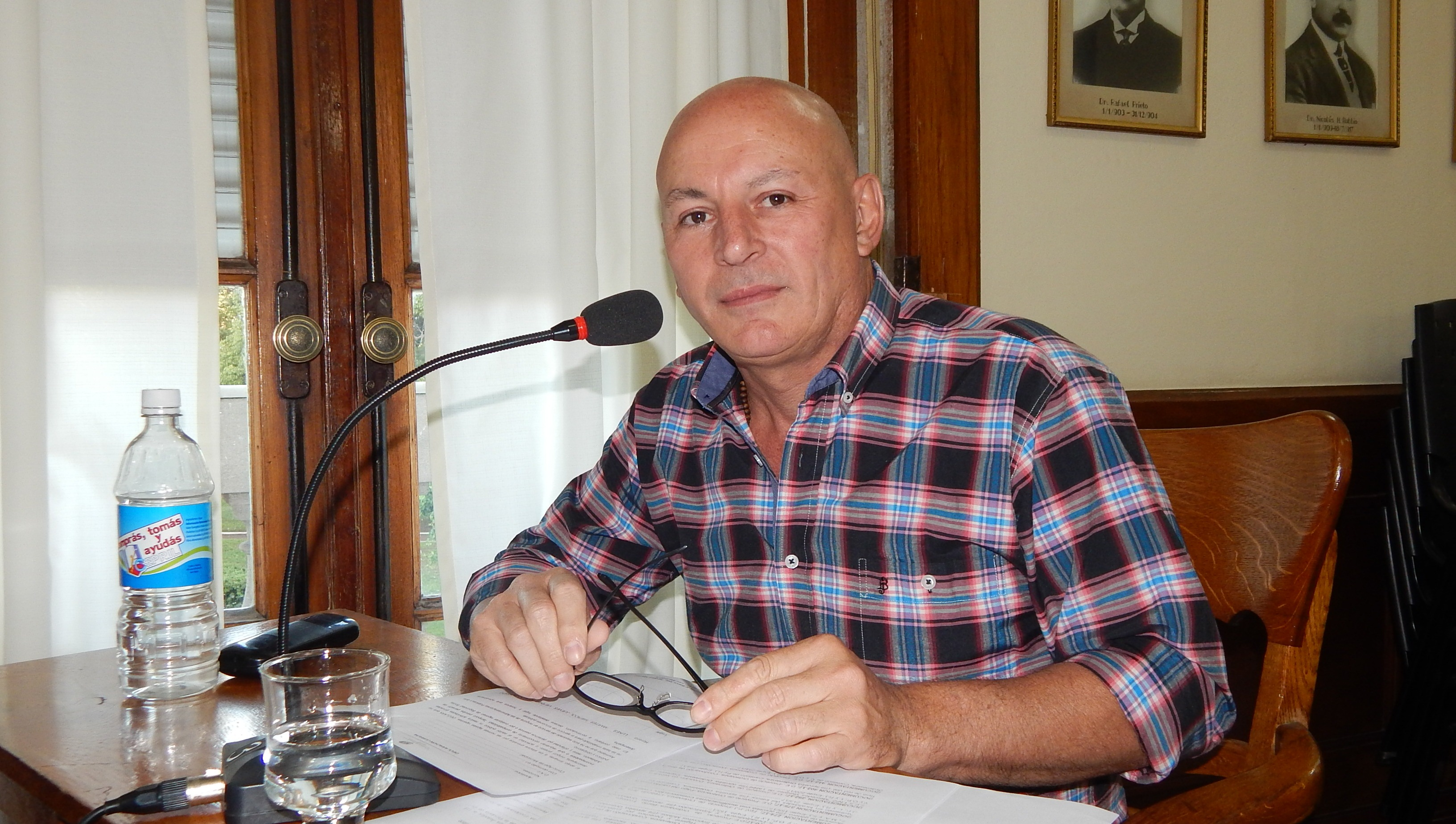 Horacio Delgado y Miguel Buldain  encabezan una de las listas que buscan presidir el PJ local