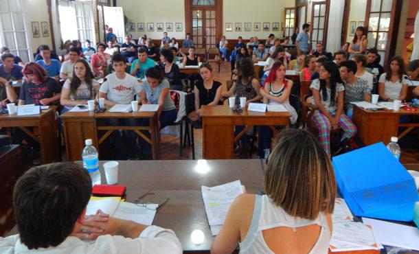 Instancia de la Sesion Estudiantil 2017