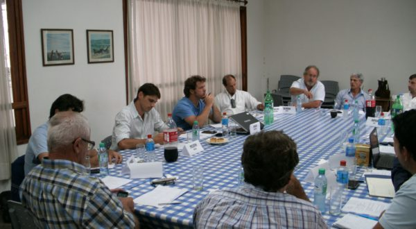 Instancia de la primera reunion de USV en 9 de Julio