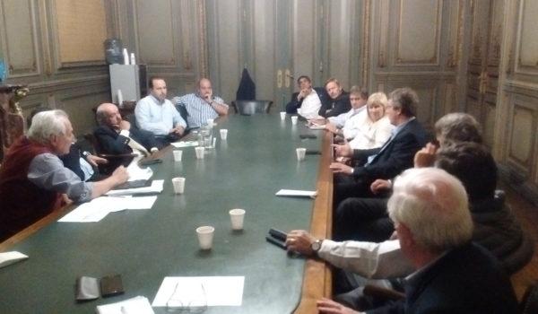 Instancia de la reunión de las entidades bonaerenses del campo