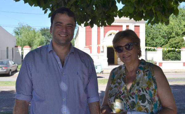 Intendente Mariano Barroso y Joelle Jacob dialogaron con El Regional Digital