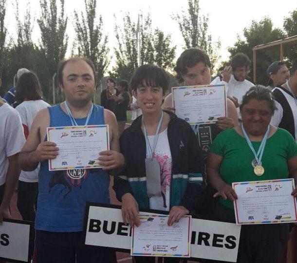 Los atletas locales consiguieron buenos resultados en La Pampa