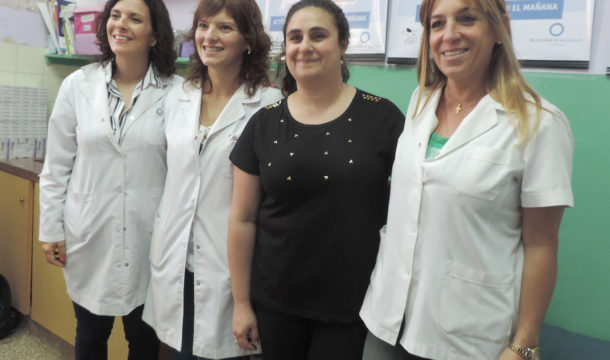 Marianela Marrafino, Julieta Ferrari, Lorena Debernadro y Cintia Pertaccaro