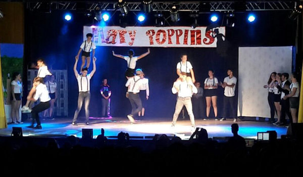 Mary Poppins fue parte del cuarto Concert de Los Ceibos