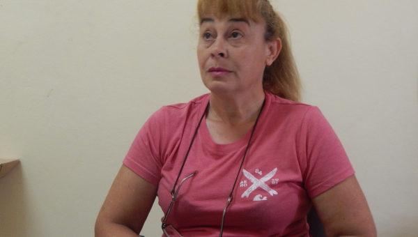 Nancy Amado, Directora del Hogar Municipal de Ancianos