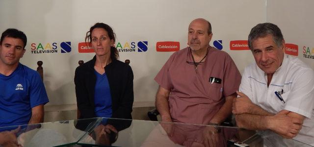 Sebastian Palacios, Liz Spinacci, Jose Luis Gri y  Javier Bercovich brindaron detalles de la jornada