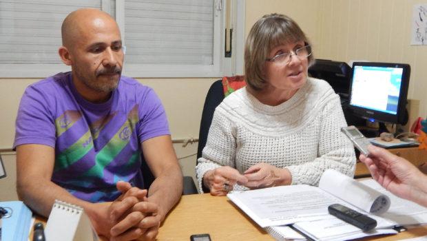 Sergio Ramos y Silvia Errecarret explicaron por que sus gremios se suman a la movilizacion convocada por Cetera