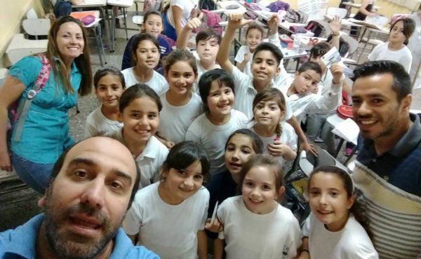 Uno de los talleres de la Escuela de Educacion de Estetica de 9 de Julio