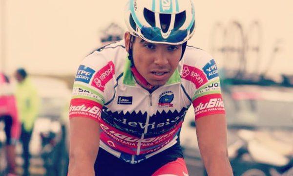 Agustin  Martinez integra el equipo SAT de Junin y es uno de los ciclistas que integra la Vuela de La Pampa