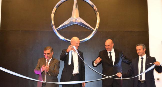 Alberto Ottaviani, Joachim Maier , Ricardo Alegre y Fernando Rivero durante la inauguración