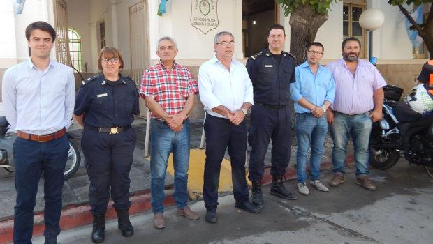 Autoridades Municipales y de Policia que dialogaron con El Regional Digital