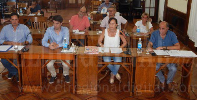 Bloque Cambiemos integrado por concejales PRO y UCR