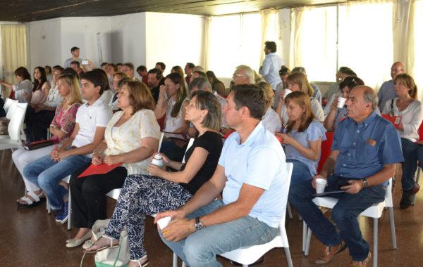 Concejales electos de Cambiemos presentes en la capacitacion, entre ellos los de 9 de Julio