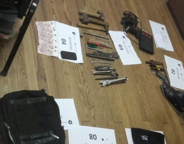 Elementos secuestrados por el CPR Carlos Casares