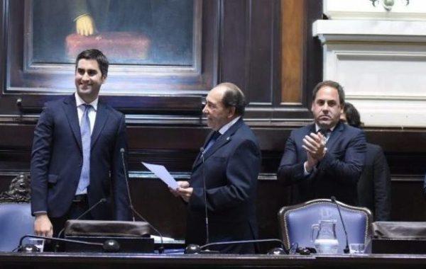 Ignacio Cingolani luego de ser ratificado en su cargo