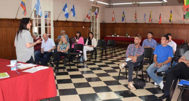 Instancia de la reunion de la Agencia vial en 9 de Julio