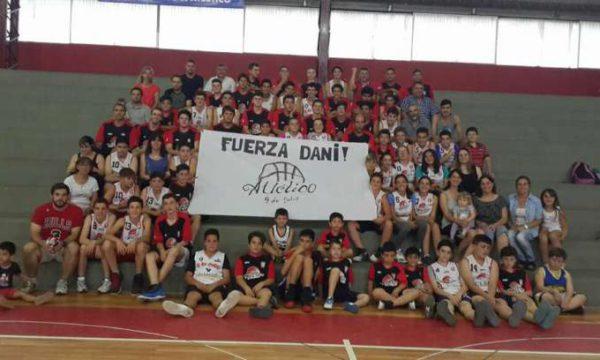 Integrantes del Basquet de Atletico 9 de Julio