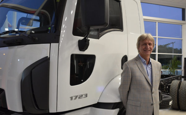 Juan Carlos Janocko de la division Camiones Ford