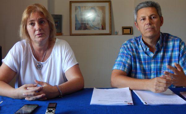 Julia Crespo y Alberto Capriroli