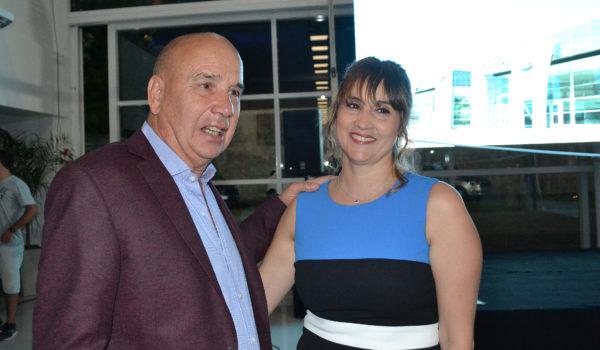 Raul Grotoli junto a Patricia Morrone, los une años de amistad, negocios y honestidad