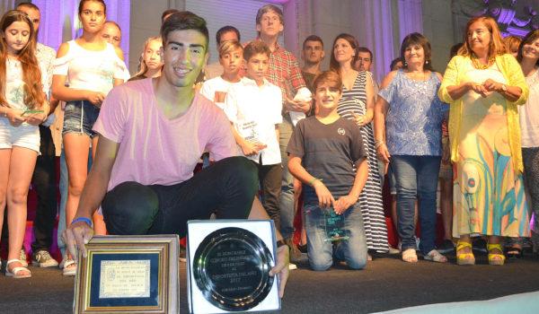 Rodrigo Corro es el Deportista del Año 2017