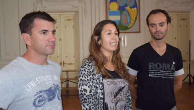 Sebastian Palacios, Marcia Molinari y Bruno Sama