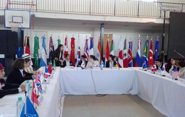 Simulacro de G20 realizado en Trenque Lauquen