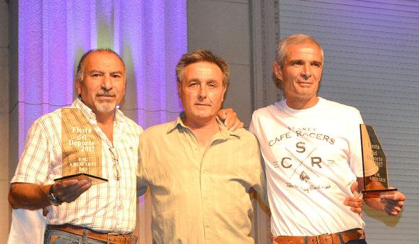 Tato Marquez, Daniel Quintana y Jorge Mazzola fueron reconocidos por su trayectoria en futbol