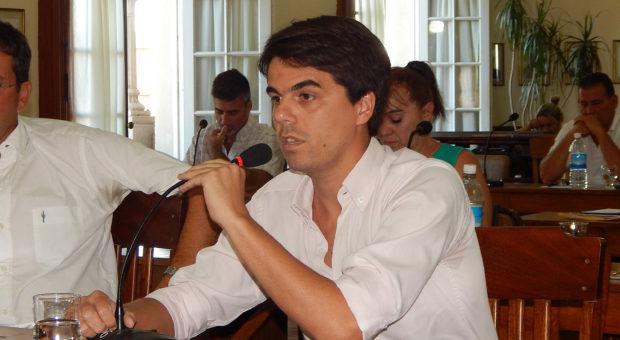 Barbieri defendiendo el proyecto del Ejecutivo