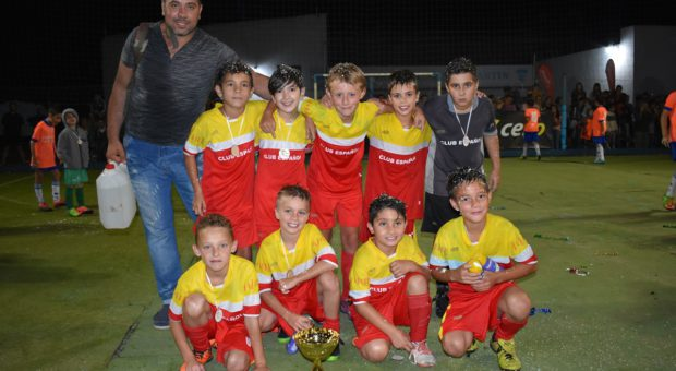Club Español sub campeon categoria 2008