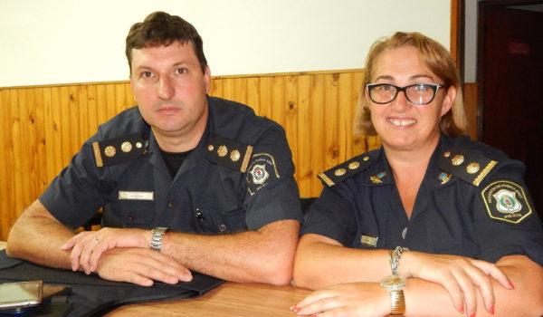 Comisarios Vazquez y Figueroa brindaron detalles de los secuestros