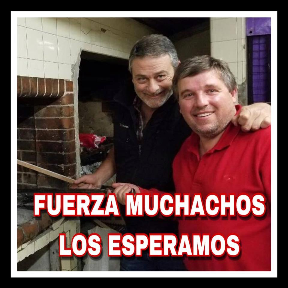 La mejor noticia del año: Daniel Felipe y Marcelo Librandi ya están en 9 de Julio
