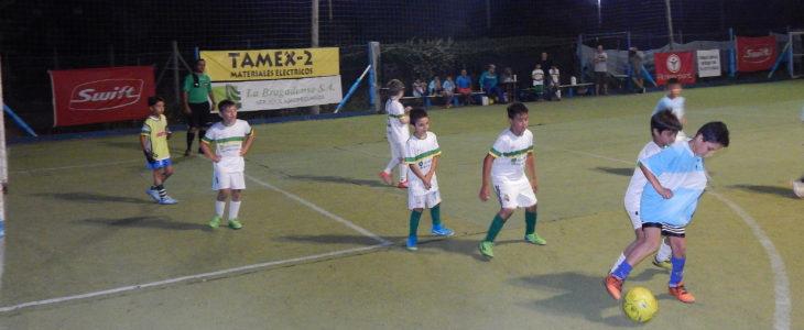 Partido entre Jhon Deere y San Martín en categoria 2009