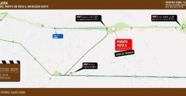 Ruta 5 hacia Acc Oeste