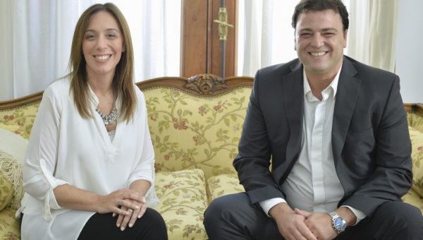 Instancia en que Barroso fue recibido por Vidal en el  2017
