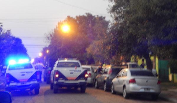 Amplio despliegue policial