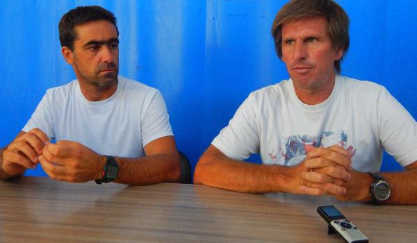 Ariel Pesce junto a Marcelo Albano de la Dirección de Deportes brindaron detalles del paso de la Doble Bragado en 9 de Julio