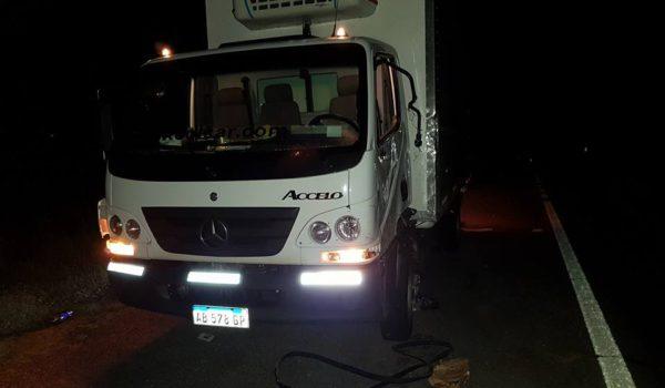 Camion tambien participe del accidente