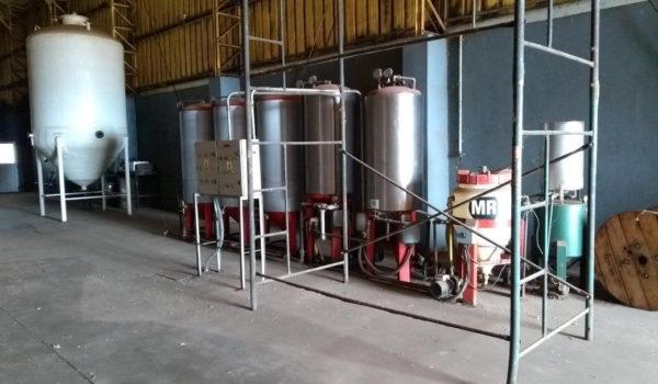 Instalaciones diseñada para la produccion de biogas