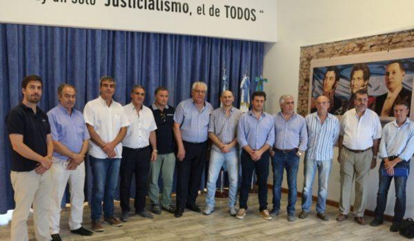 Intendentes justicialistas – foto La Tecla