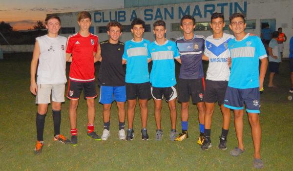 Jugadores de 5ta Division convocados al entrenamiento de pre temporada