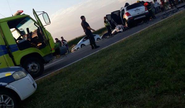 Lugar del accidente – foto DiarioJunin