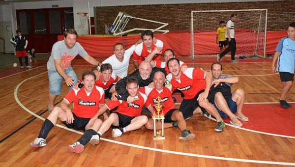 Manga de Gatos, son los nuevos campeones del Futsal de Atletico 9 de Julio