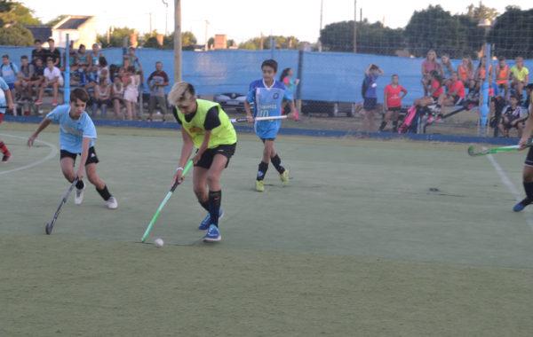 Partido de Hockey Masculino en el Torneo de San Martin