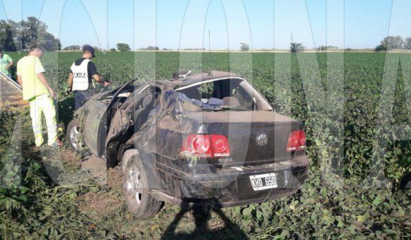 Vehiculo VW Bora participante del accidente